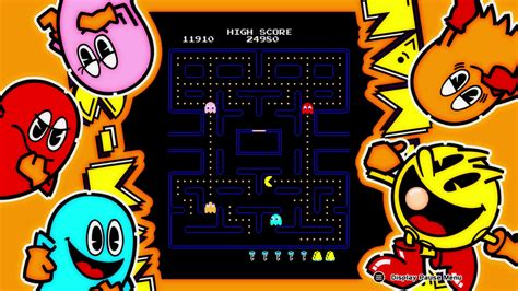 video game wallpaper border arcade game series pac man review the pac is back on