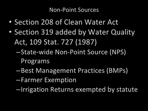 section 402 clean water act applied administrative law water law