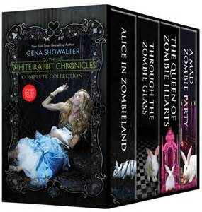 the white rabbit chronicles boxed set alice in zombieland
