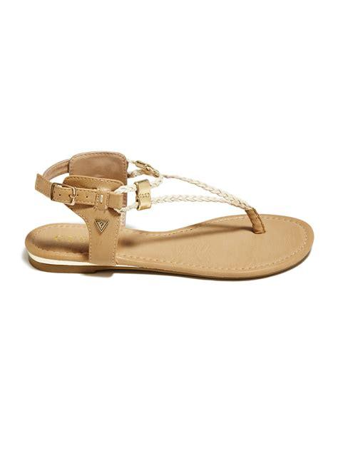 braided sandal guess braided flat sandals ebay