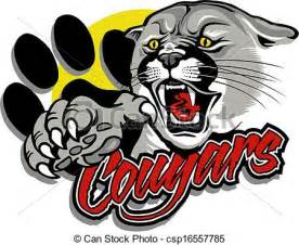 vector of cougar with claw csp16557785 search clip art