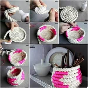 Handmade Craft Tutorials - wonderful diy unique storage basket from newspaper