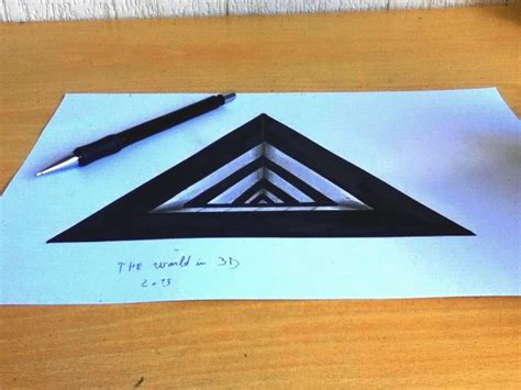 3d illusion l youtube dessin 3d illusion 2 youtube