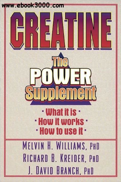 creatine a practical guide pdf creatine free ebooks