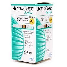 Accu Chek Aktif Isi 50 test strips accu chek active isi 50 tokoalkes