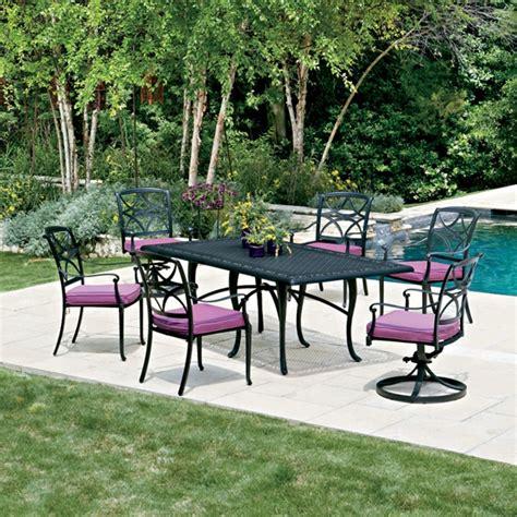woodard wiltshire 7 patio dining set wd wiltshire set1