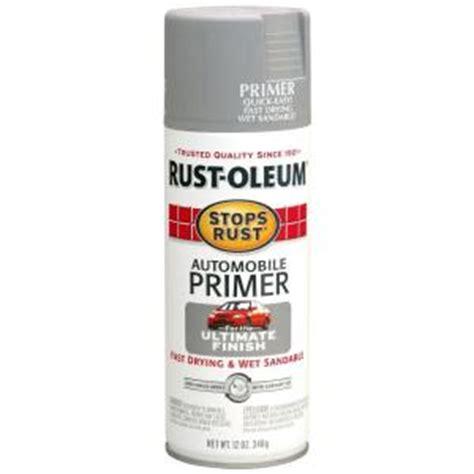 home depot spray paint for cars rust oleum stops rust 12 oz flat light gray automotive