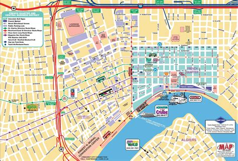 map new orleans maps update 27821888 new orleans quarter tourist map new orleans quarter