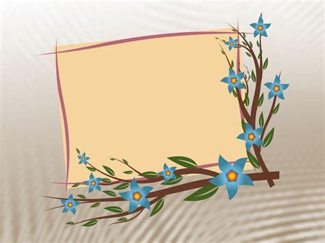 vintage floral frame backgrounds border frames ppt green flower rings wallpaper border 3 cool hd wallpaper