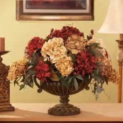 Silk Arrangements For Home Decor Grande Silk Hydrangea Silk Flower Arrangement Ar259 Hydrangea Flower Centerpiece Ar259 250