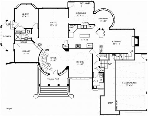 technical floor plan house plan inspirational technical drawing house plans