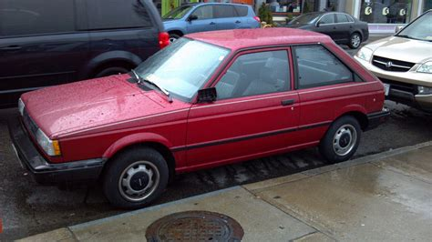 where is the nissan sentra made cohort outtake 1987 88 nissan sentra hatchback when