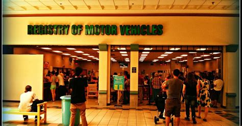 register of motor vehicles the massachusetts registry of motor vehicles rmv