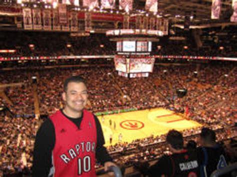 air canada club rail seats nba basketball arenas toronto raptors home arena air