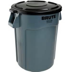 home depot garbage cans rubbermaid commercial products brute 44 gal gray