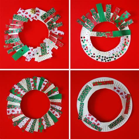 paper plate wreaths with paper plates duh wrapping
