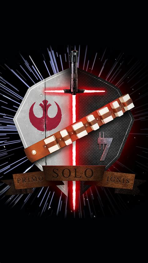 star wars family crest han solo primo solo ignis iphone