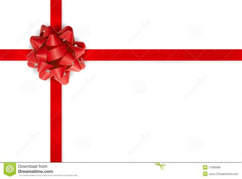 red gift bow and ribbon royalty free stock images image