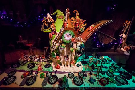 love  nightmare  christmas haunted mansion holiday gingerbread house   disney