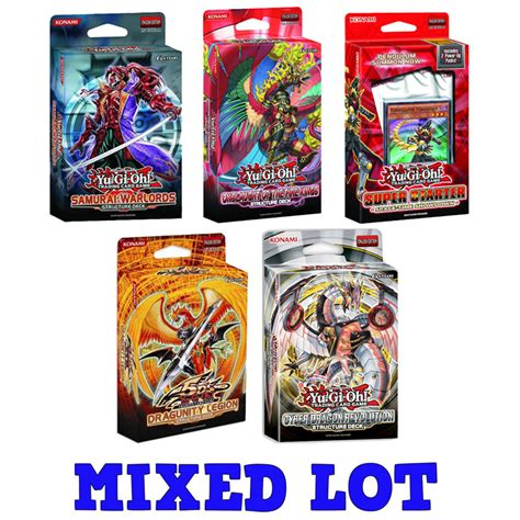 yu gi oh trading card starter deck yu gi oh cards starter structure decks mixed lot of