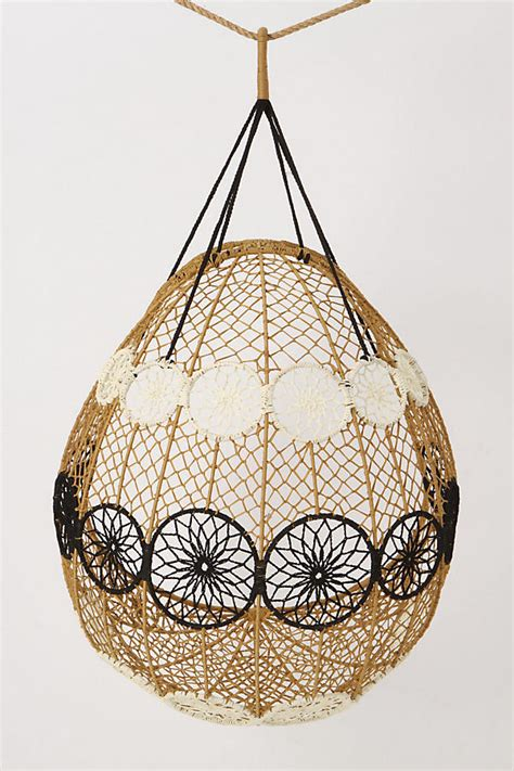 knotted melati hanging chair knotted melati hanging chair anthropologie