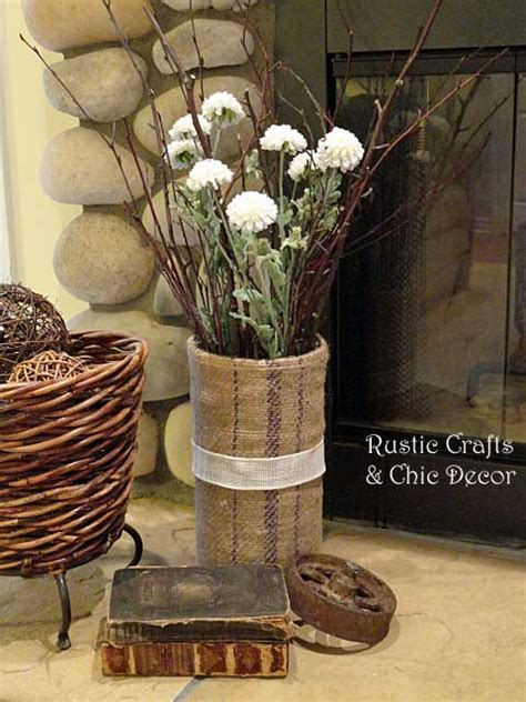 rustic craft projects 25 rustic crafts for home decor rustic crafts chic decor
