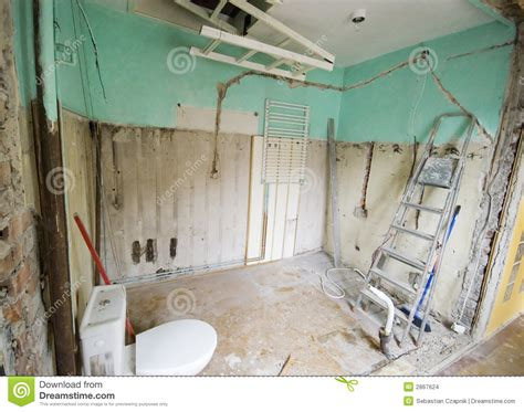 bathroom renovation stock images image 2867624