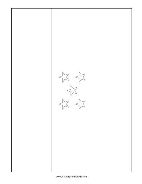 la bandera de honduras para colorear bandera de honduras para colorear para imprimir gratis