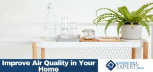 how to improve the air quality in your home window well