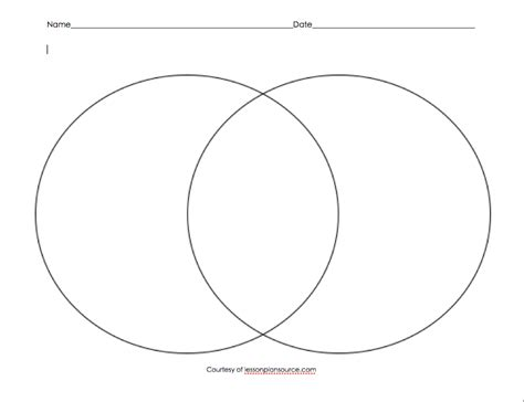 venn diagram organizer pritable venn diagram graphic organizer