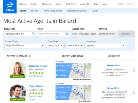 zillow makes it easier to find the best realtor with
