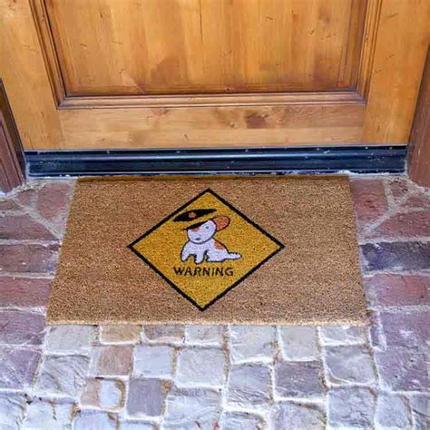 Soggy Doormat Coupon by Quot Beware Of Door Mats Quot