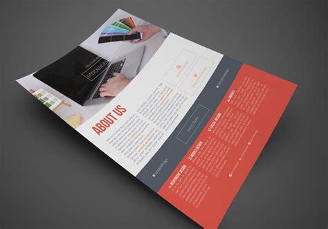 Corporate Design Vorlagen Indesign Clean Corporate Flyer Template Stockindesign