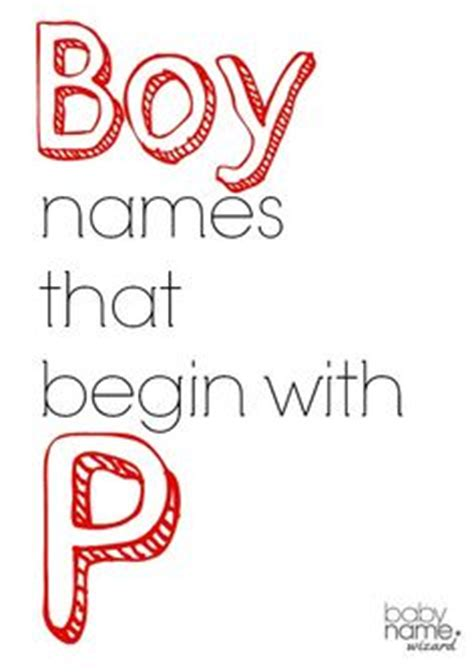 names that start with p 1000 images about boy names on baby names boy boy names and names for boys