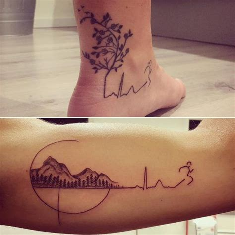 tattoos for runners best 25 running tattoos ideas on run