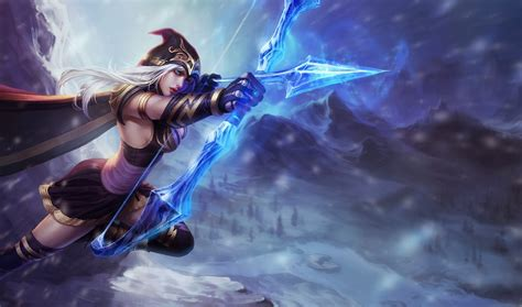 wallpaper hd game lol ashe league of legends wallpaper ashe desktop wallpaper