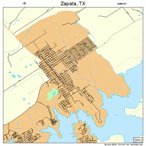 zapata texas map zapata texas map 4880716
