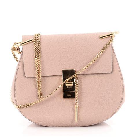chloe bag drew buy chloe drew crossbody bag leather small pink 1027402