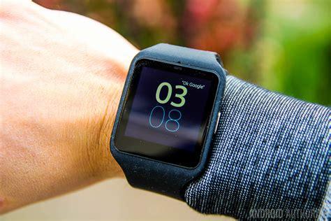 3 sony smartwatch sony smartwatch 3 android authority