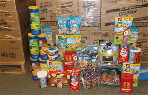 Frito Lay Background Check Care Packages For Soldiers Pepsico Frito Lay Delivered 6 Pallets Of Snacks