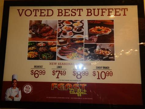 Prices Picture Of Feast Buffet At Palace Station Las Buffet In Las Vegas Price