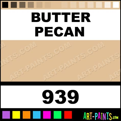 butter pecan folk acrylic paints 939 butter pecan paint butter pecan color plaid folk