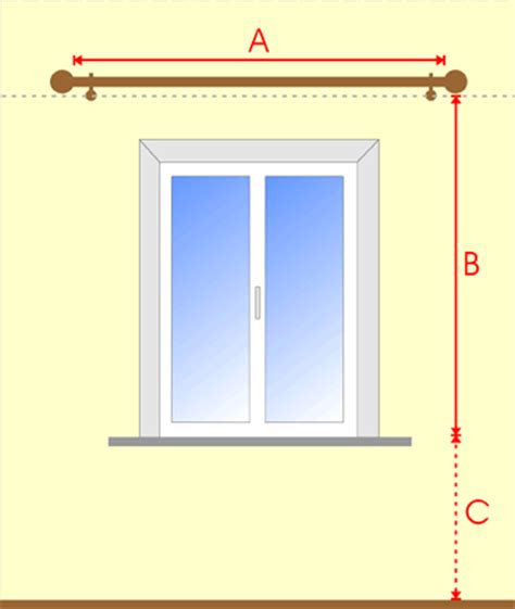 measuring windows for curtains made to measure