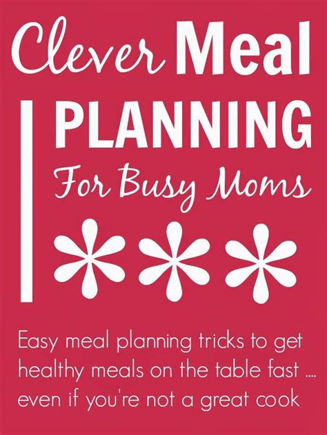 printable grocery list for busy moms 120 best menu planners menus images on pinterest