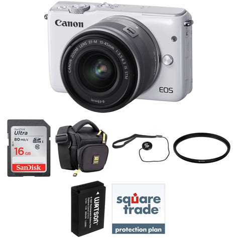 Canon Eos M10 Canon M10 Kit Lens 15 45mm 22mm Paket Dahsyat 16gb canon eos m10 mirrorless digital with 15 45mm lens b h