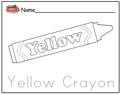 preschool yellow coloring pages free coloring pages of yellow objects