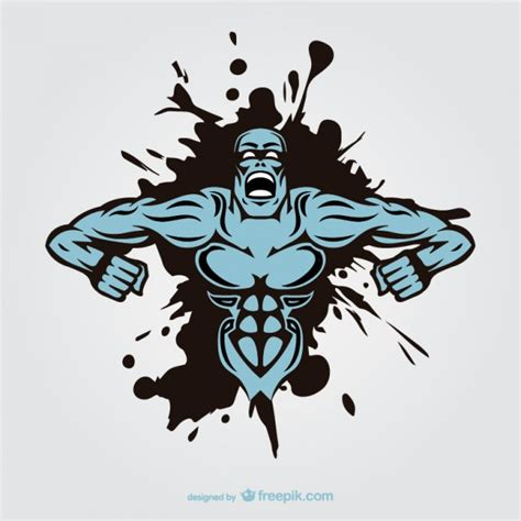 tattoo designer online kostenlos muskel mann monster tattoo design download der