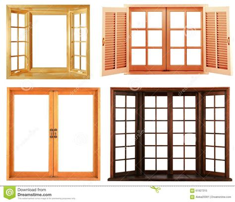 types of window frames for houses different types of wooden window frame isolated stock image image of architecture