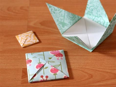 How To Fold A Paper Envelope - these are great directions for the origami envelope