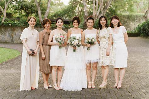 wedding quotes indonesia nuetral toned bridesmaids